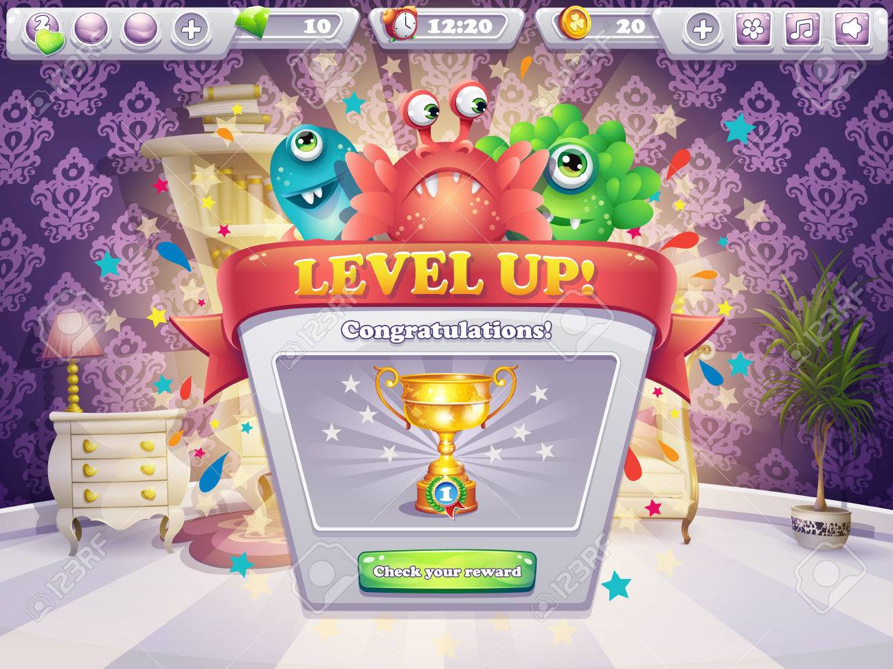 Example of the game window receiving award - 40921072