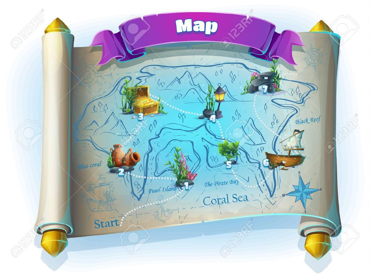 Atlantis ruins playing field - 59197218