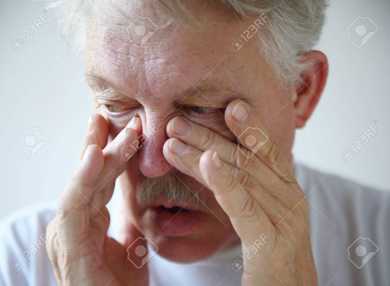 Nariz tapada y dolor de mandíbula
