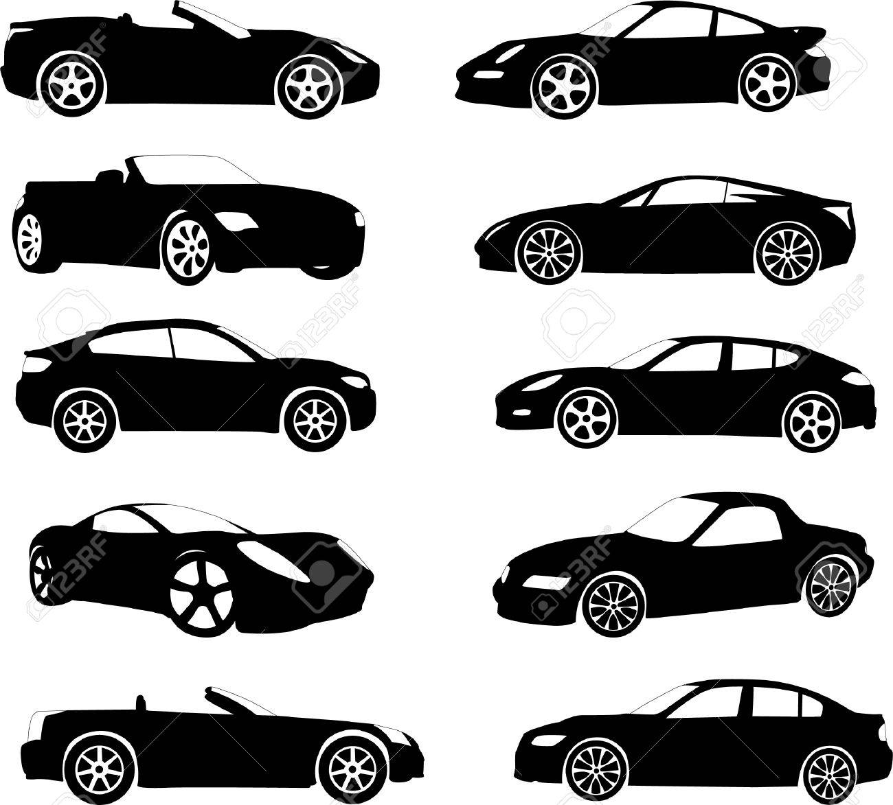 sport cars collection - vector Stock Vector - 4893468