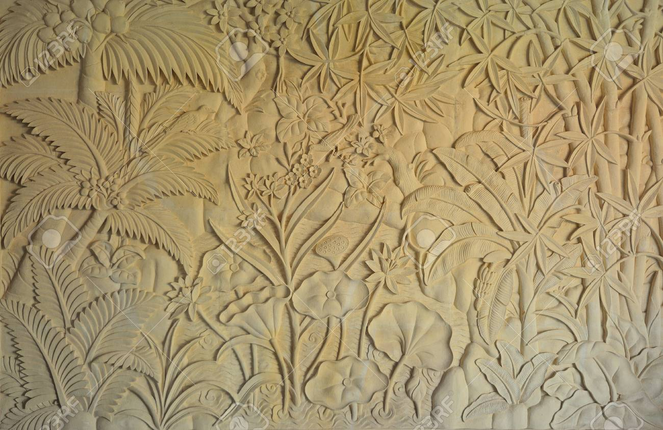 Stone Craft Art Design In Bali Stock Photo Picture And Royalty Free