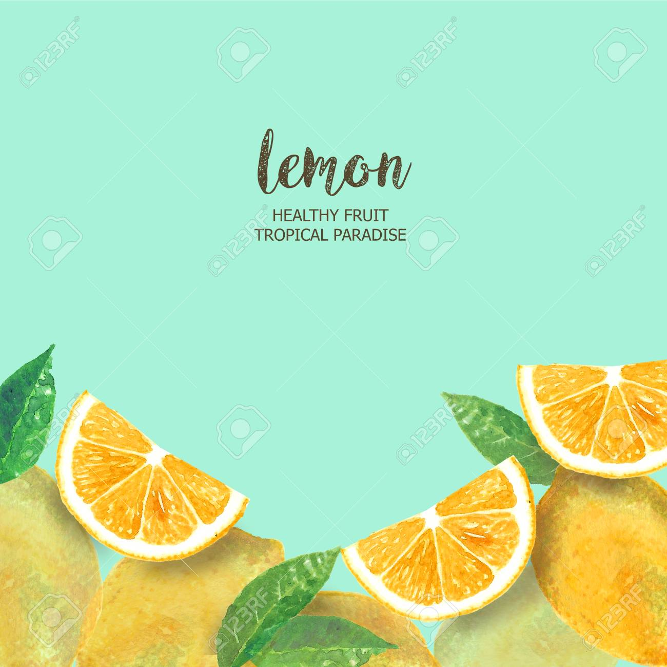 lemon background flat layout watercolor fresh slice cut lemon citrus stock photo picture and royalty free image image 101960019 lemon background flat layout watercolor fresh slice cut lemon citrus