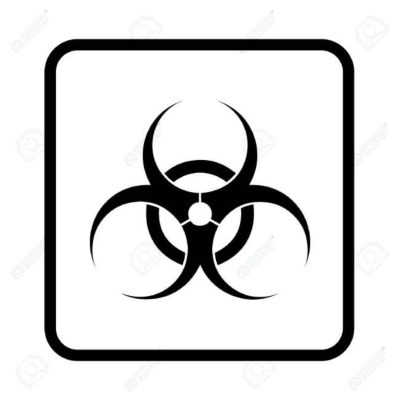 Biohazard Symbol Royalty Free Cliparts Vectors And Stock