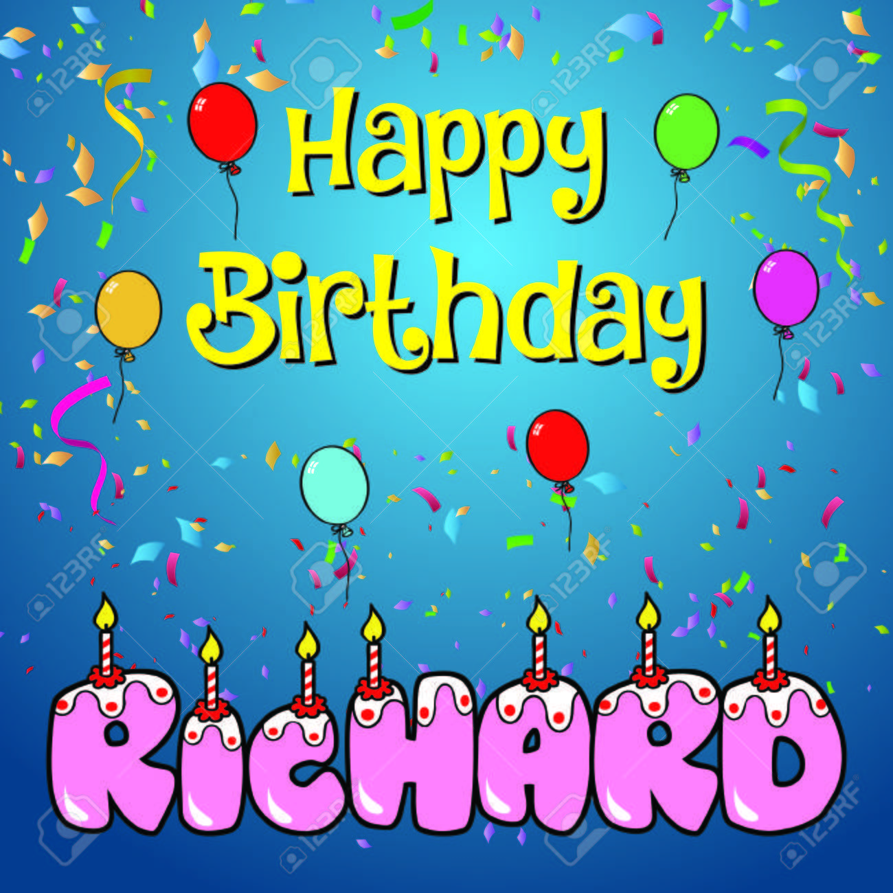 Image result for happy birthday richard