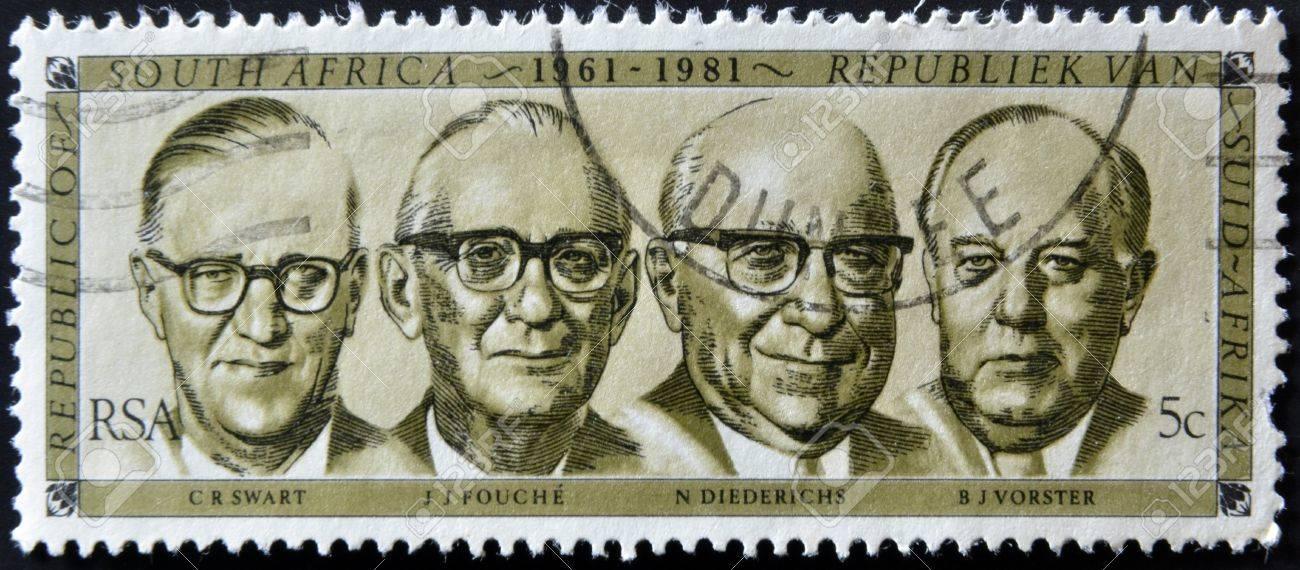 (原创)南非人物邮票3:历任总统 - 六一儿童 - 译海拾蚌
