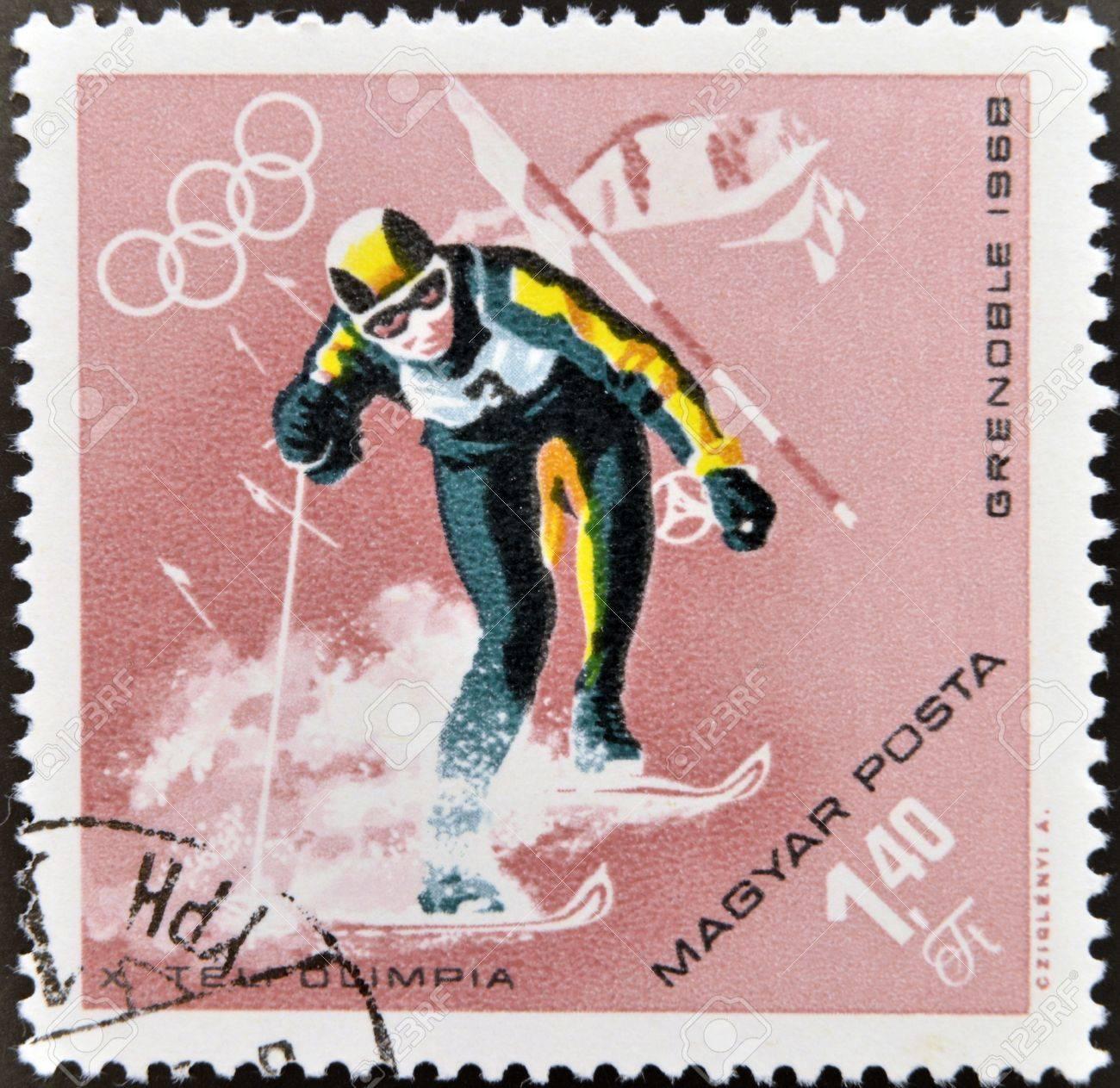 1968年グルノーブルオリンピックのアルペンスキー競技