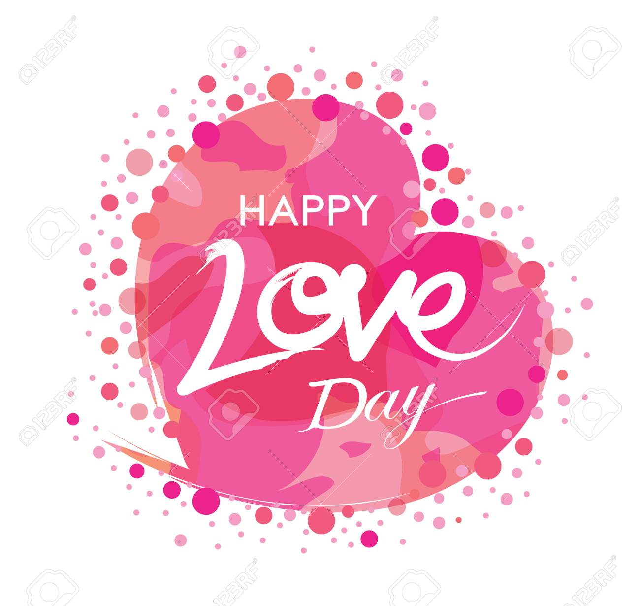 Happy love day hand drawn quotes in vector greeting cards hand drawn quotes in vector greeting cards labels and badges m4hsunfo