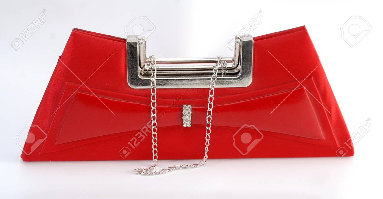red woman bag Stock Photo - 12708091