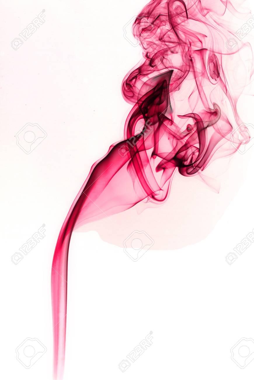 pink smoke art Stock Photo - 18357924