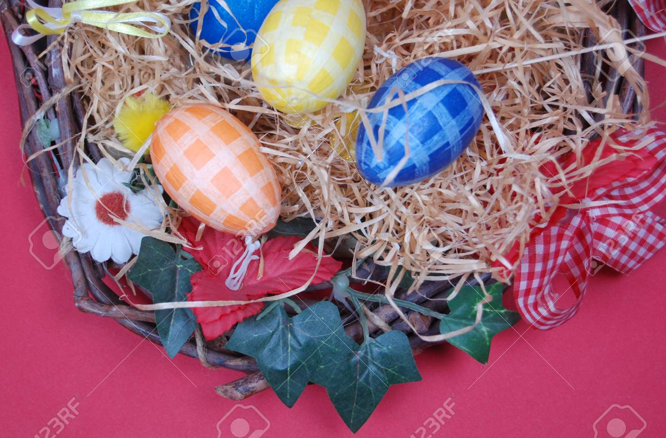 Easter Eggs Decoration Stock Photo - 18710940