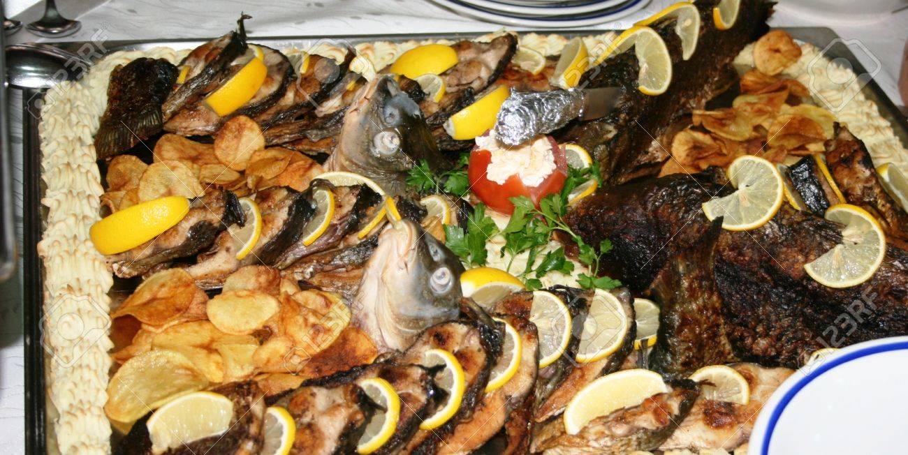 gourmet food, platter Stock Photo - 22317924