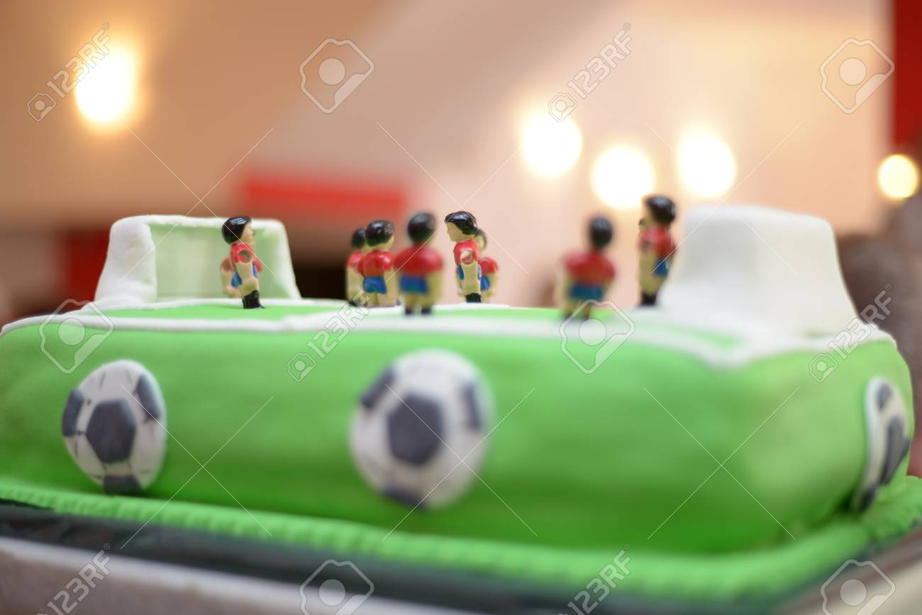Amazing Picture Of A Future Soccer Playe Baby Boy Birthday Cake Stock Personalised Birthday Cards Cominlily Jamesorg