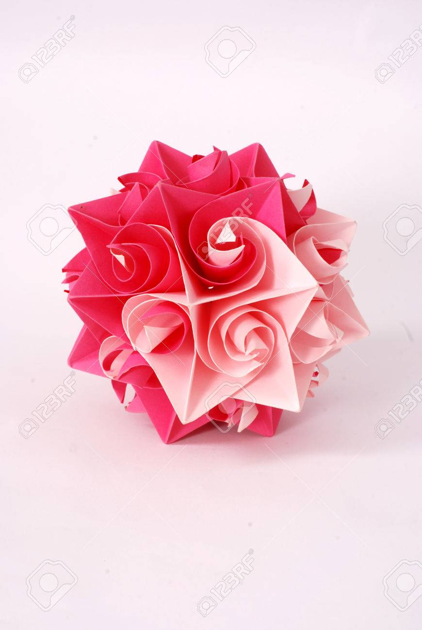 Picture of a origami star flowers art concept stock photo picture picture of a origami star flowers art concept stock photo 41507048 mightylinksfo