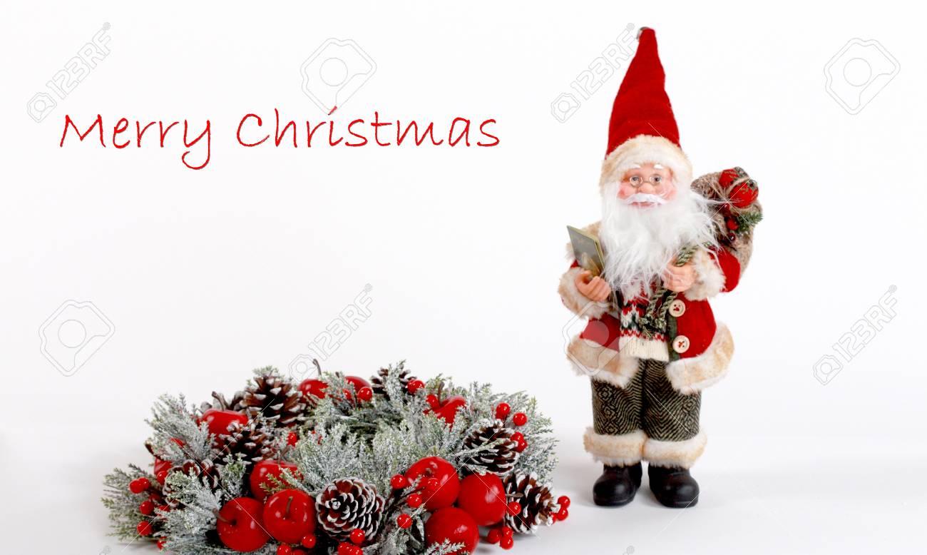 Imagen De Una Tarjeta De Navidad .christmas Decoración, Concepto De ...