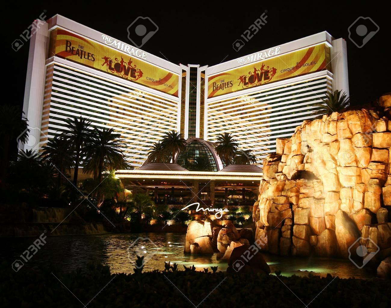 The Mirage on the Strip in Las Vegas, Nevada, taken December 28, 2010. - 8632144