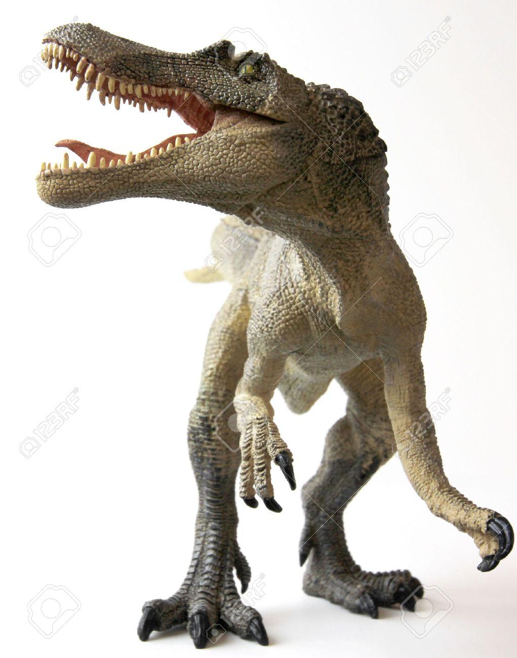 A Spinosaurus Dinosaur with Gaping Jaws Full of Sharp Teeth - 9010374