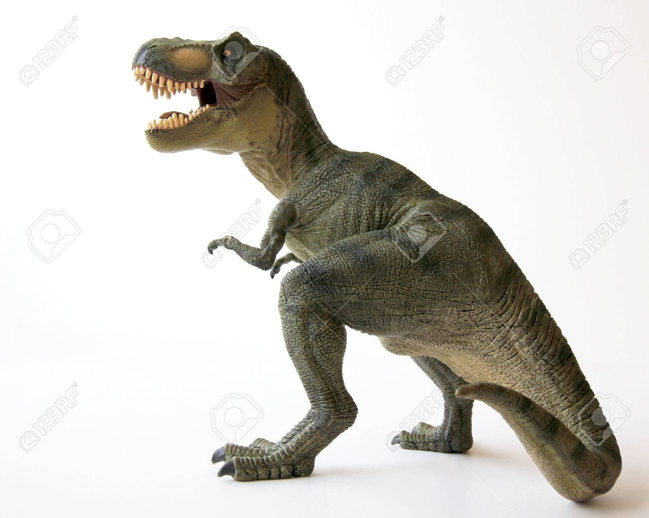 A Tyrannosaurus Rex Dinosaur with Gaping Jaws Full of Sharp Teeth - 9010381