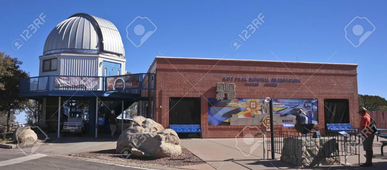 6012c0145baacc Kitt Peak National Observatory on February 28, 2016, near Tucson, Arizona.  The Kitt Peak National Observatory Visitor Center and Museum near Tucson,  ...