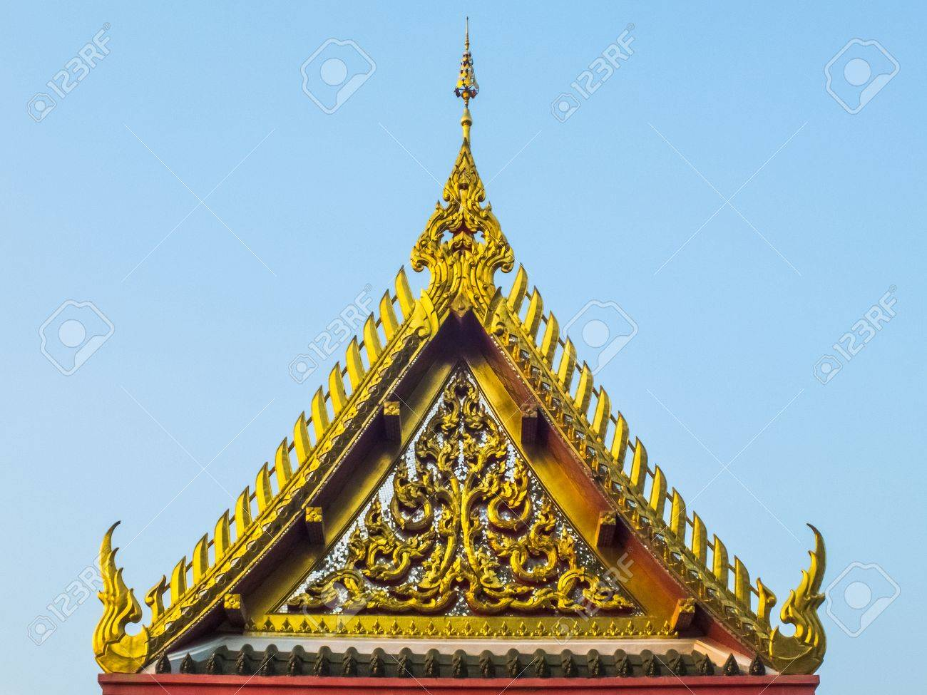 roof of a temple Stock Photo - 18759424