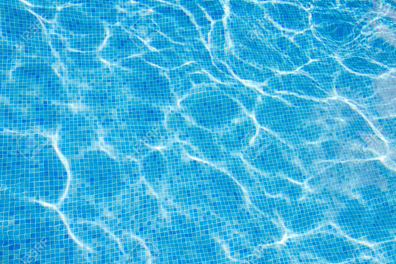 Swimming Pool Background beautiful cool water in swimming pool background stock photo