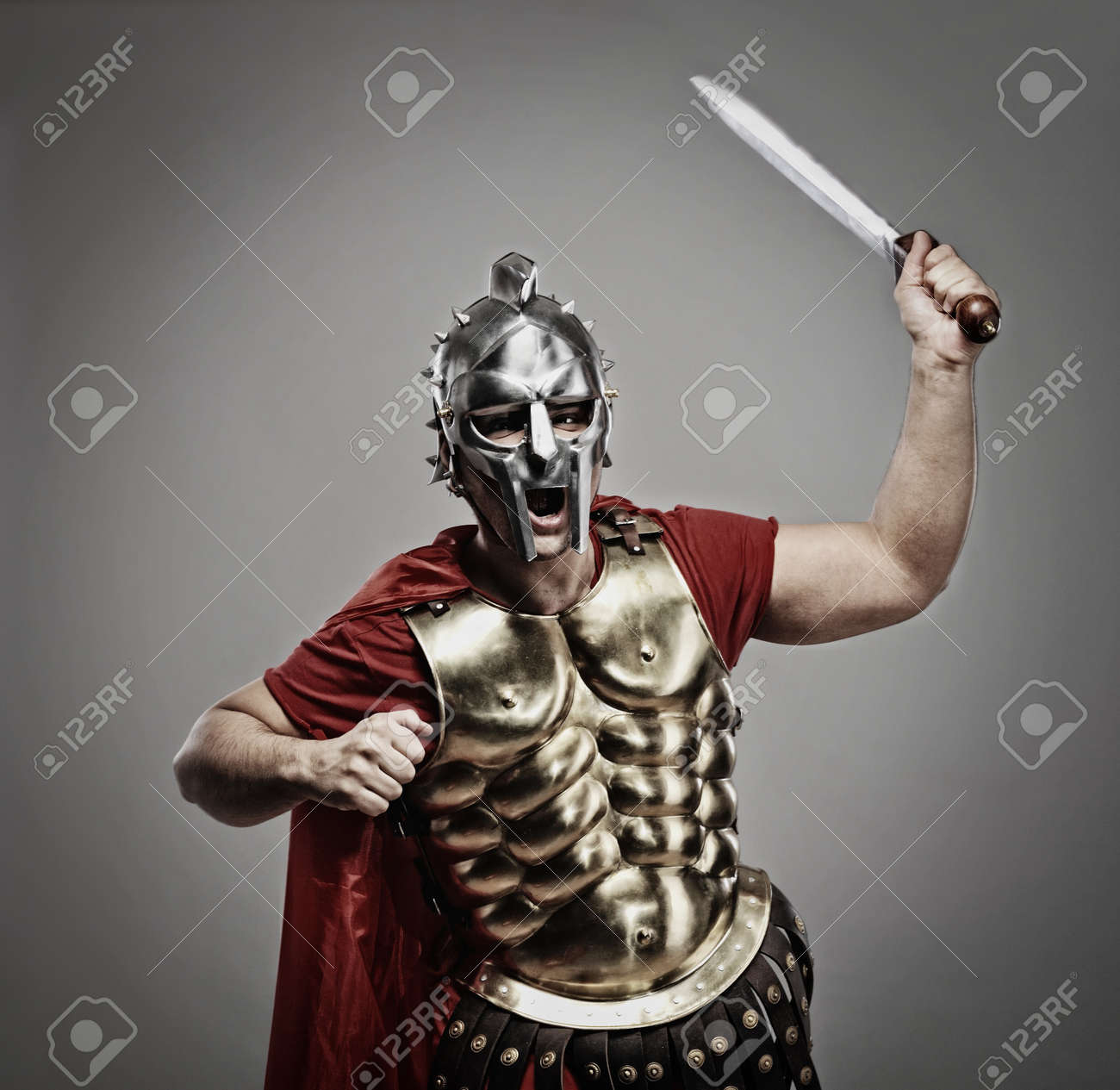 Legionary soldier ready for a war Stock Photo - 7125949