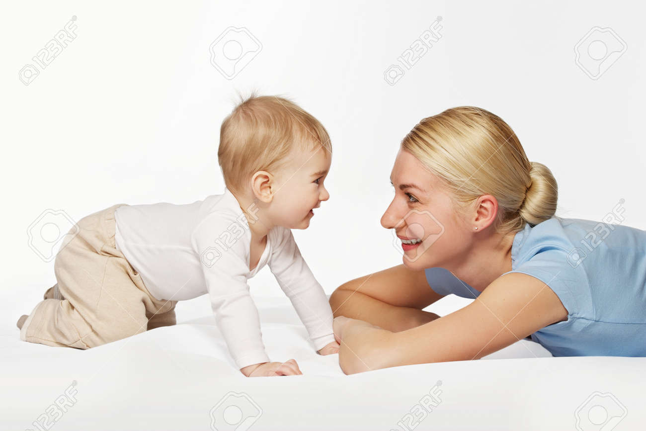 Mother with her adorable baby Stock Photo - 9206021