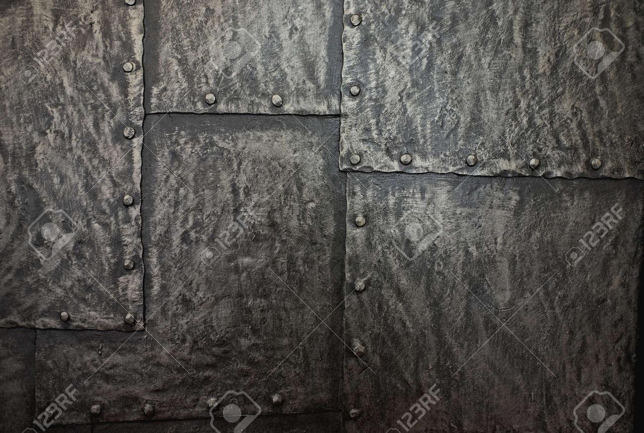 Metal background. Stock Photo - 11940419