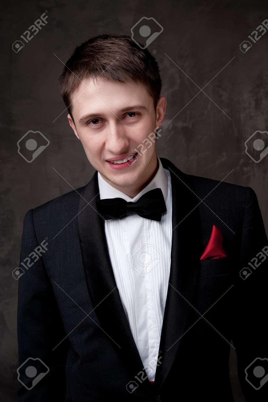 Young man wearing tuxedo. Stock Photo - 12148810
