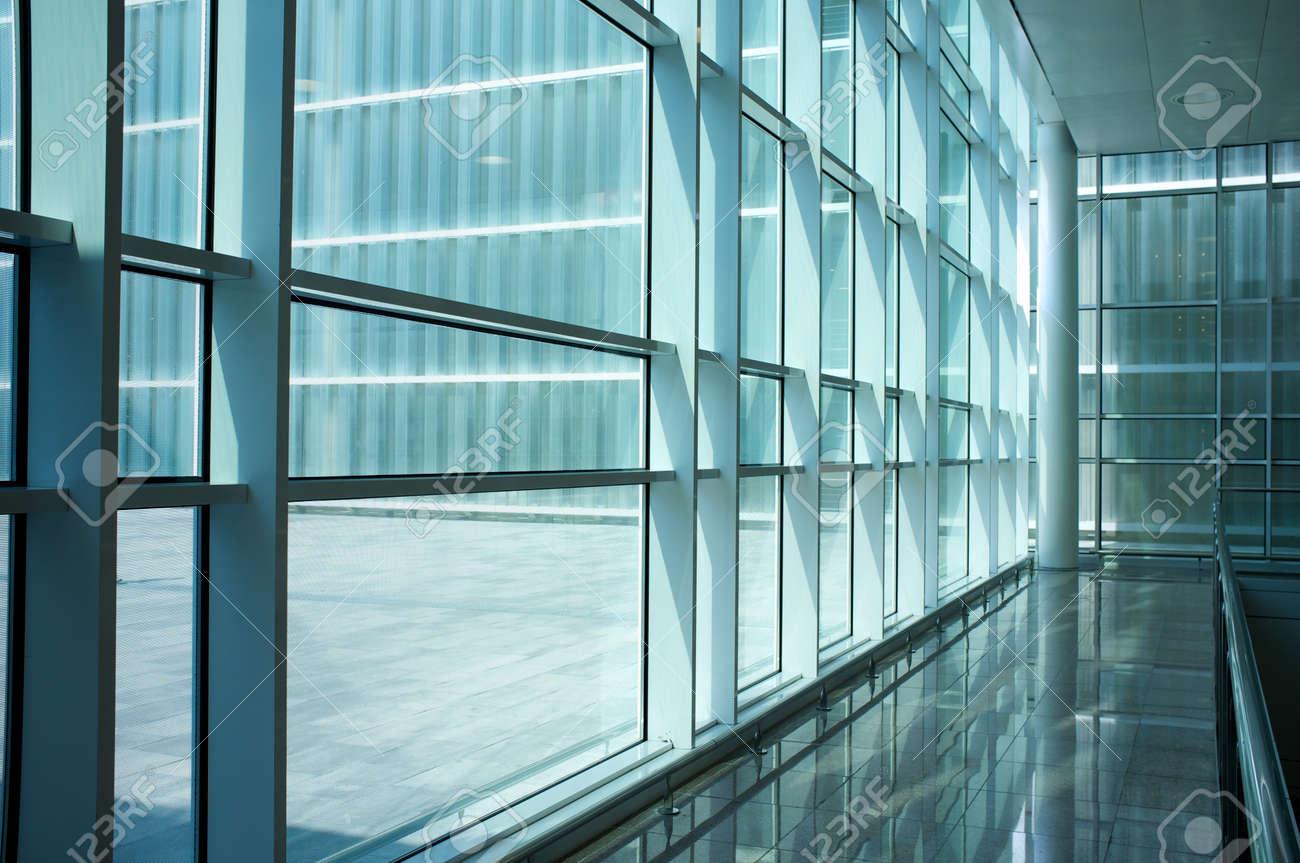 Inside of modern building. Stock Photo - 12609161