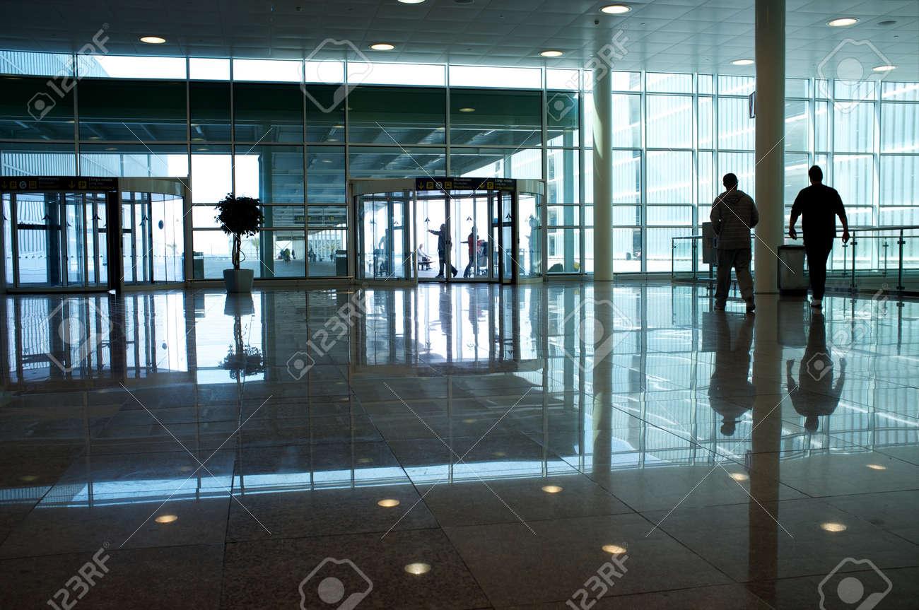 Modern office building hallway. Stock Photo - 12720955