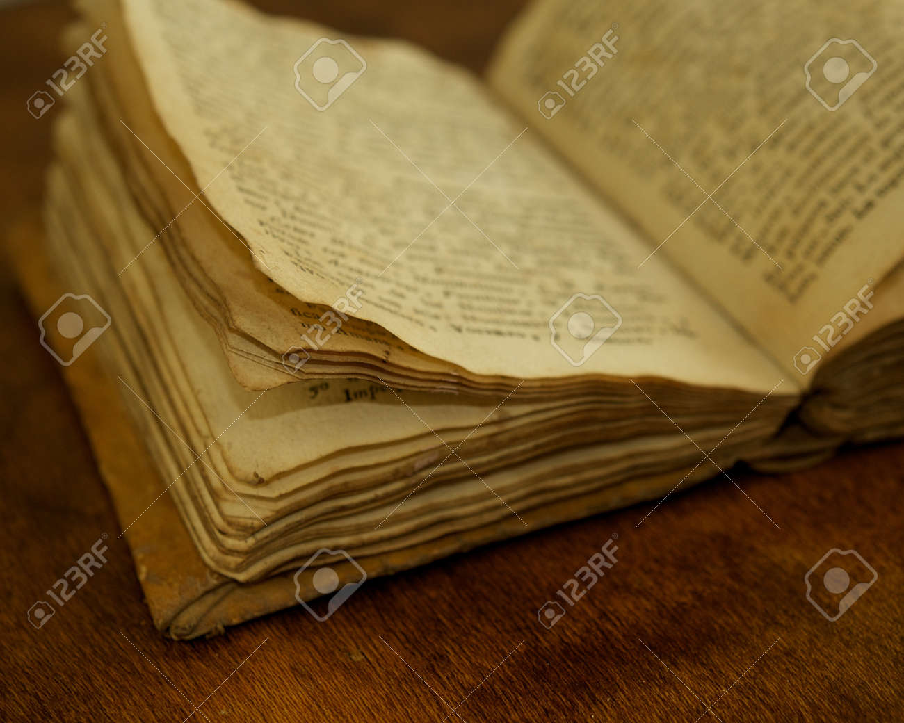 Close-up of a vintage book. Stock Photo - 13233176