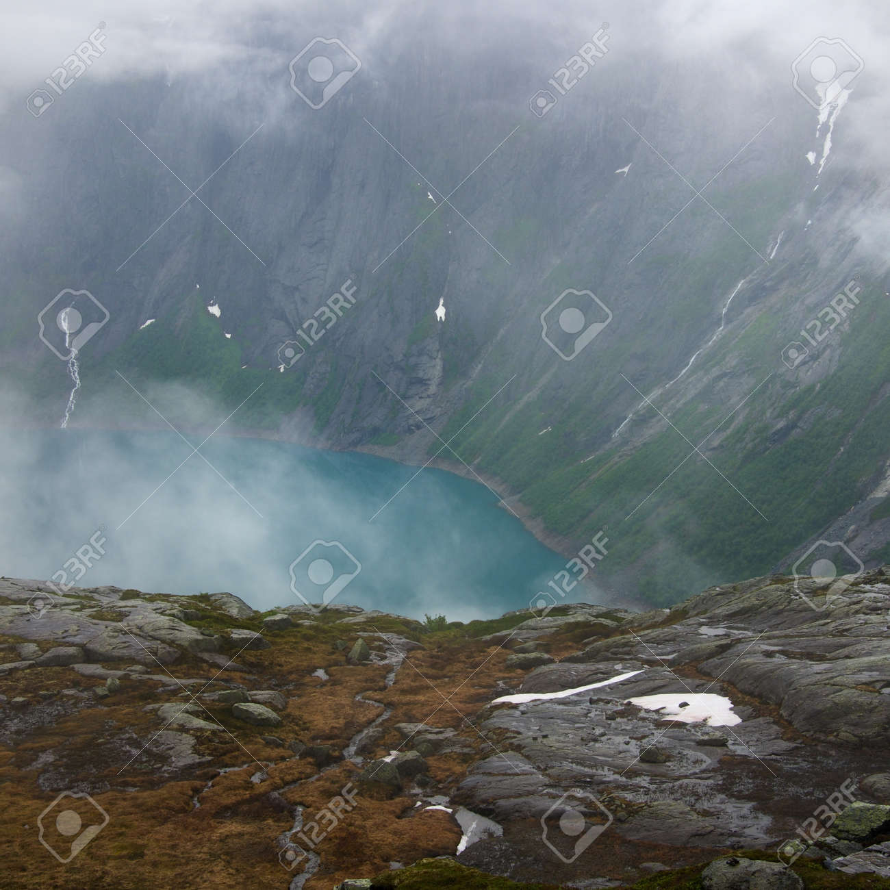 Beautiful fjord view Stock Photo - 15252932