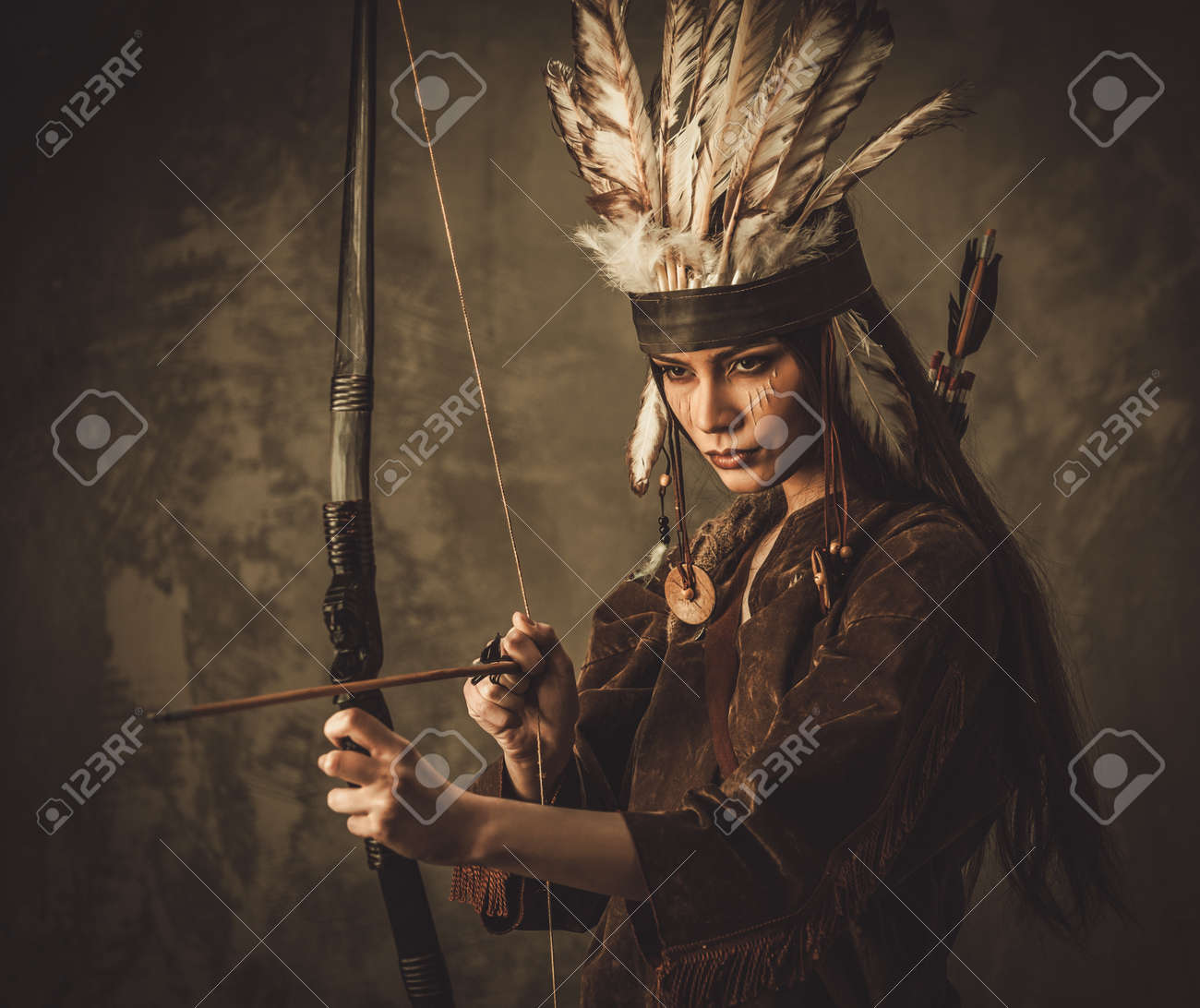 native american woman traditional stock photos royalty free