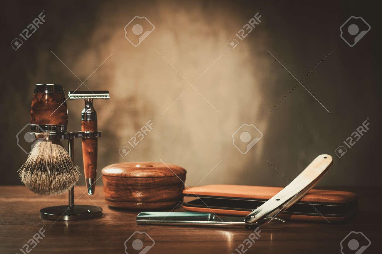 Gentleman's accessories on a luxury wooden board Stock Photo - 53533153