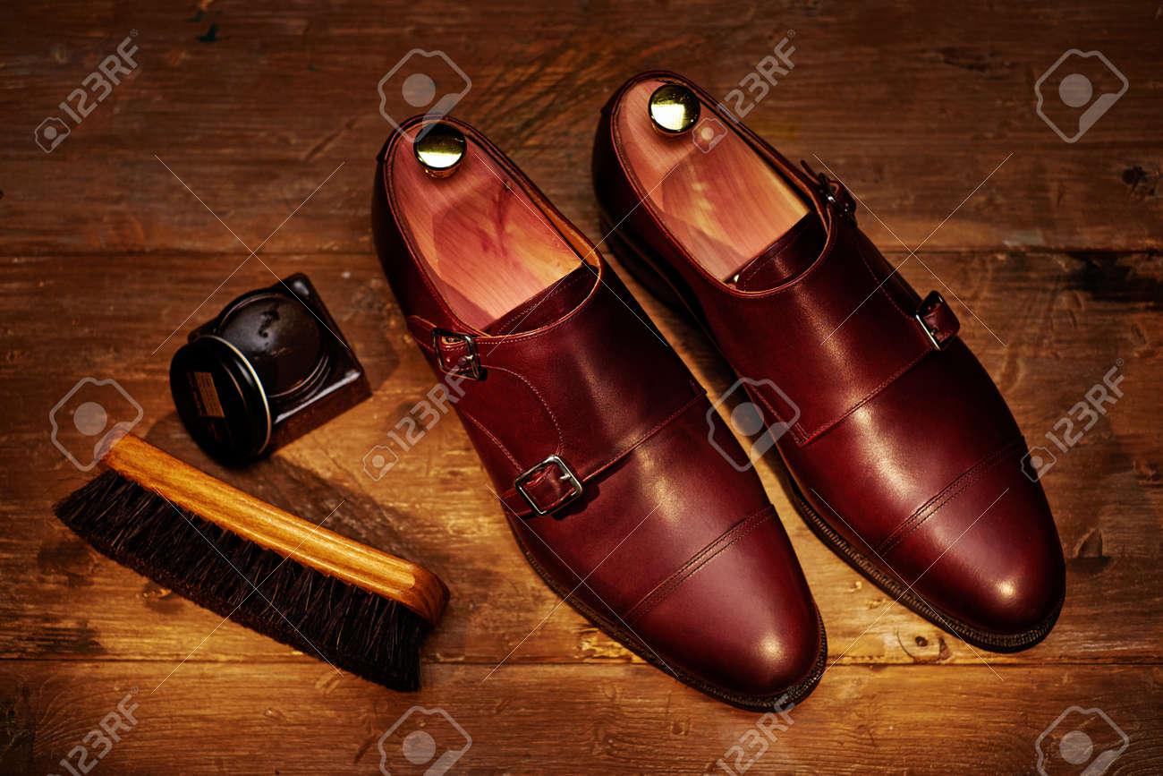 Hombres Bodegón De Accesorios Zapatos El Y Para Con Cuero qXrXw4x