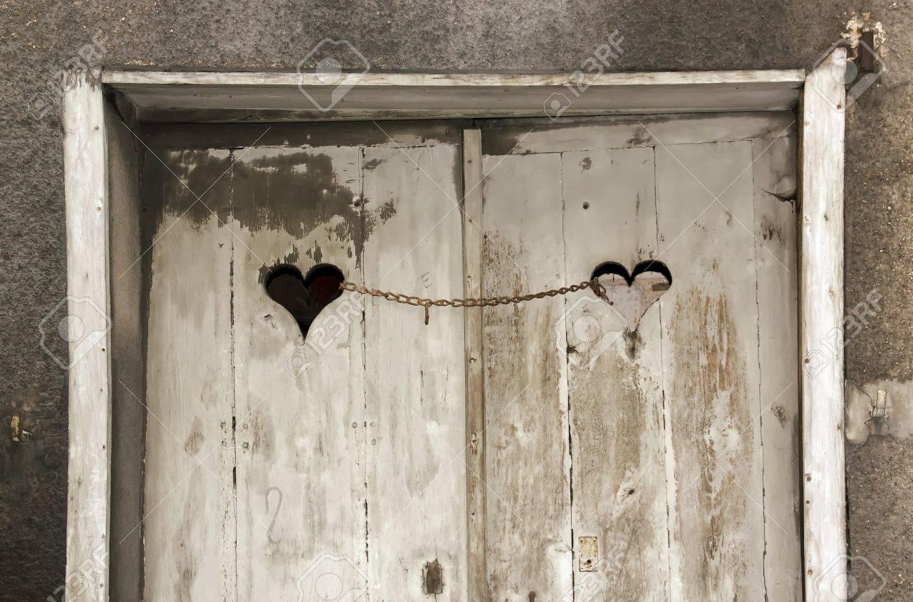 Porte de la chaîne aime Banque d'images - 17214427