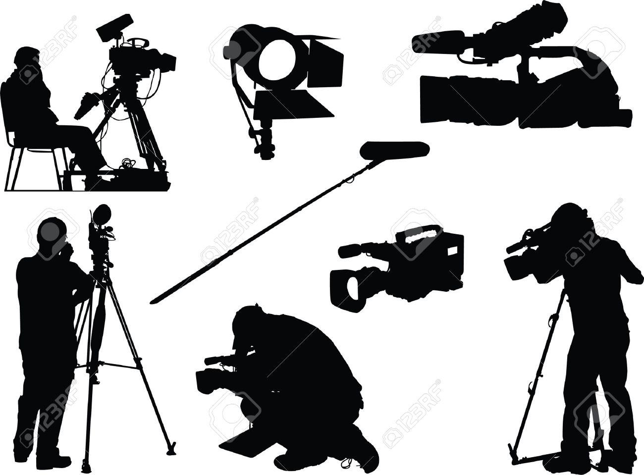 撮影技師および映画オブジェクト...