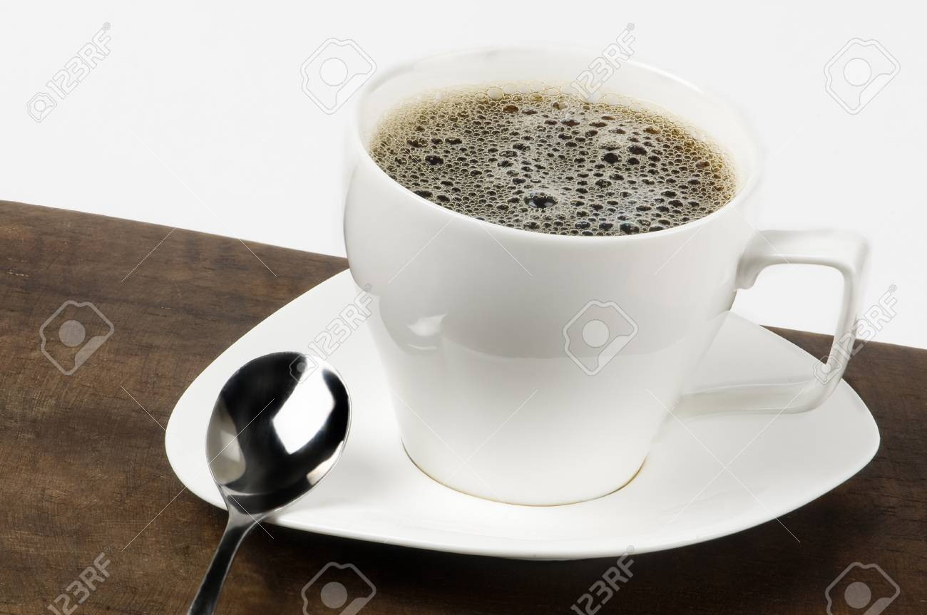 white coffee cup Stock Photo - 10763874
