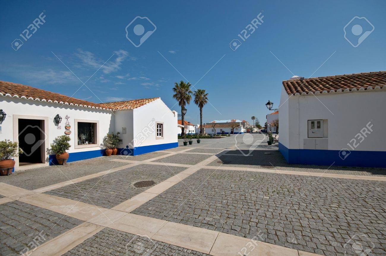 porto covo pueblo en el alentejo portugal foto de archivo