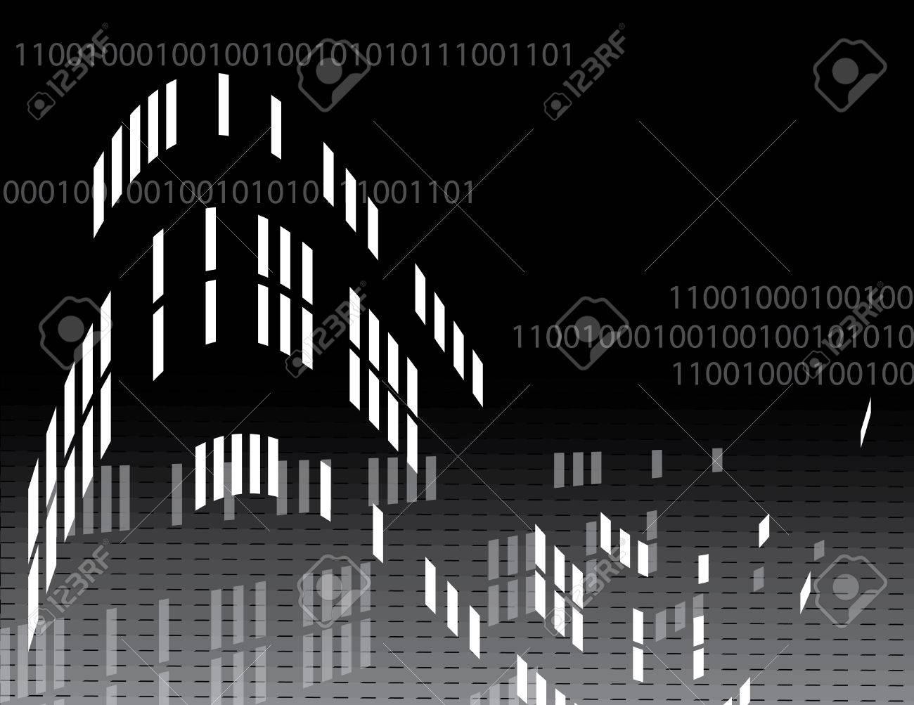 Code Dependency Stock Vector - 4593485