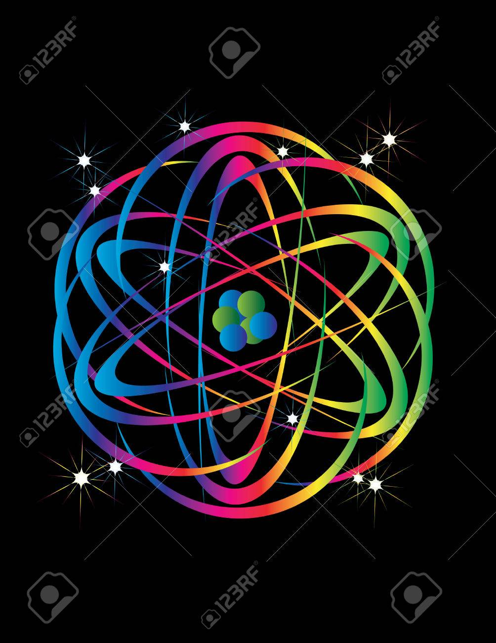 Atomic Energy Stock Vector - 5415297