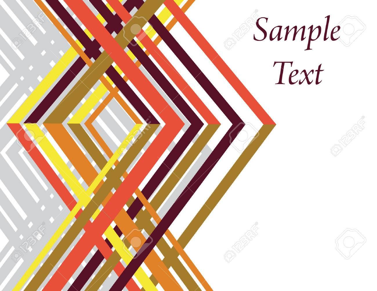 Geometric Weave Stock Vector - 6565067