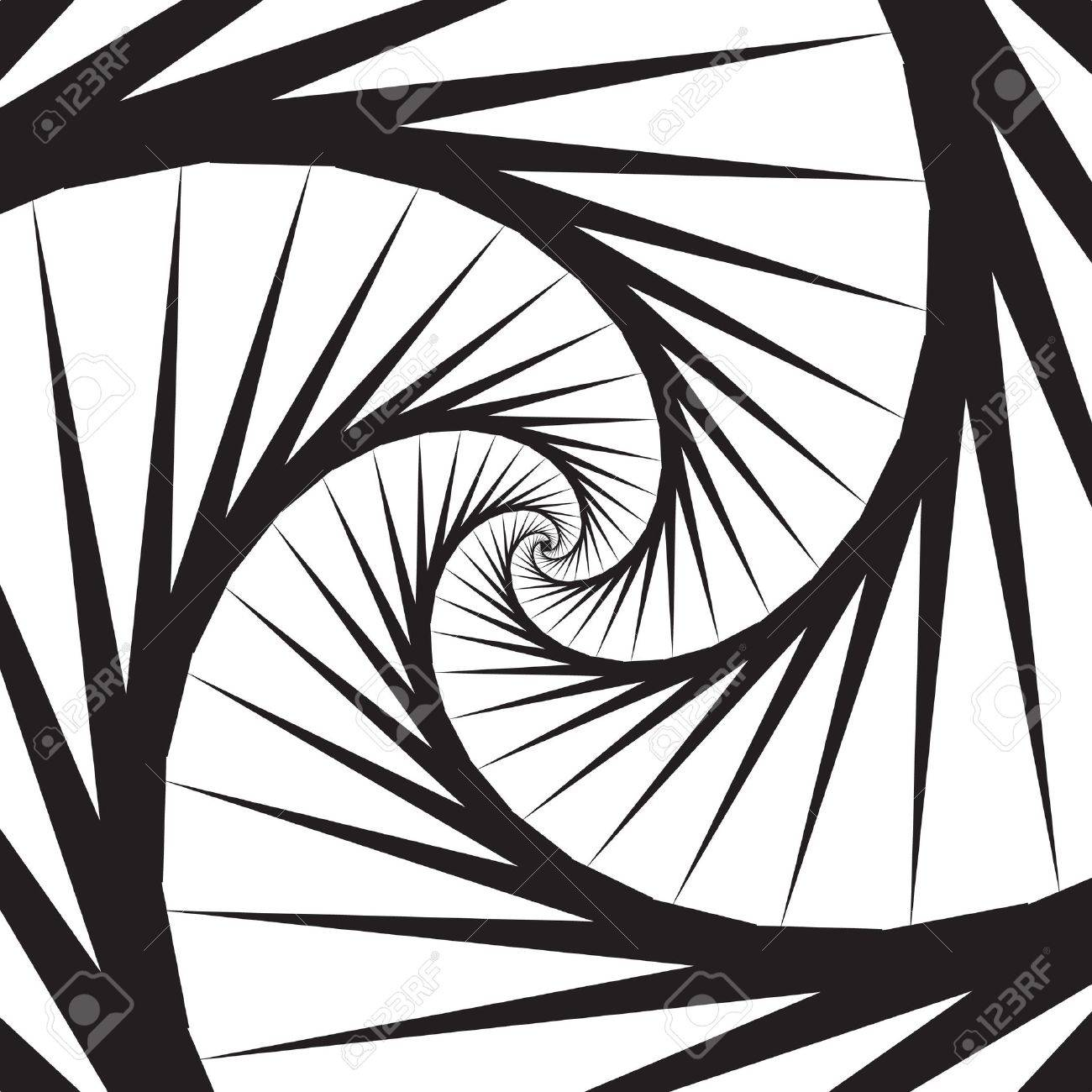 Spiral Stairs Stock Vector - 11383247