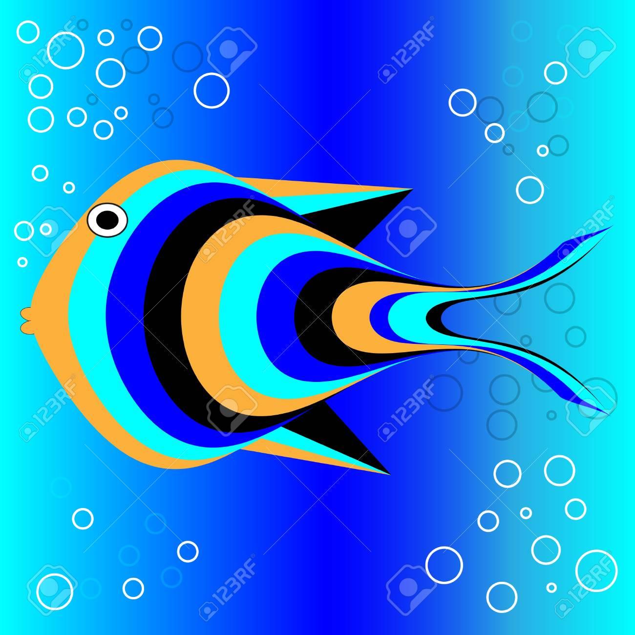 Tropical Fish Stock Vector - 15467105
