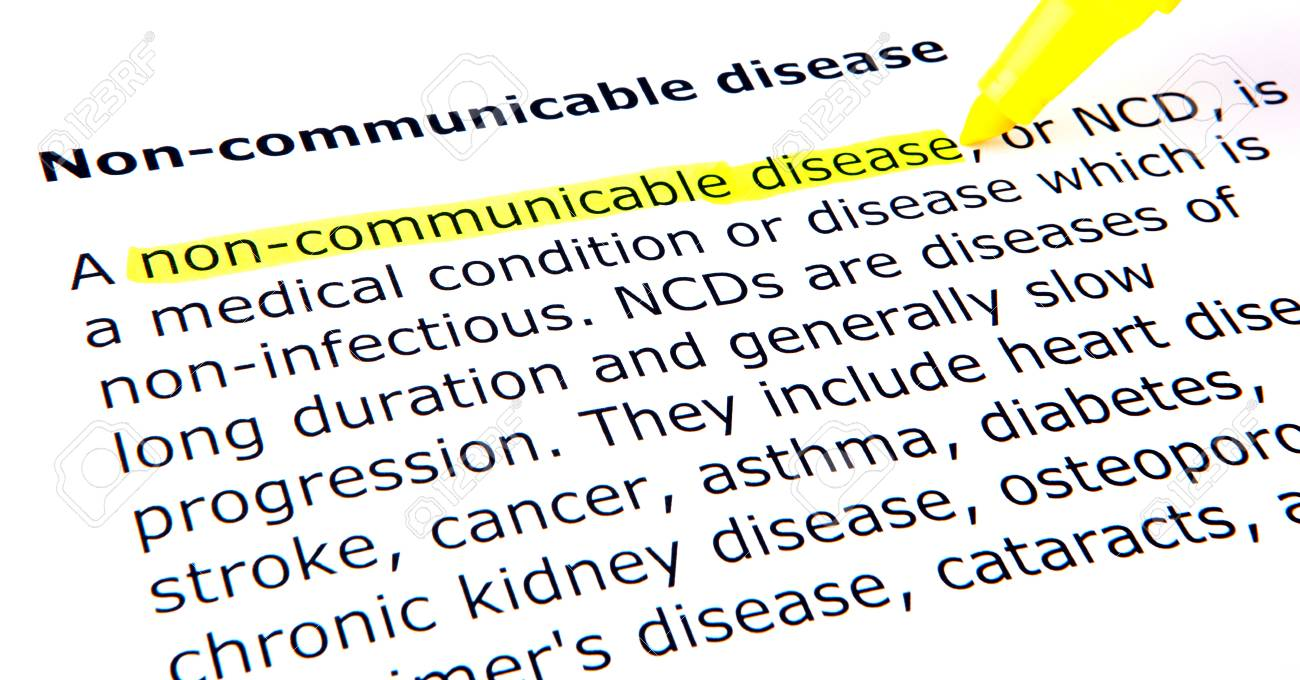 Non-communicable disease Stock Photo - 10662690