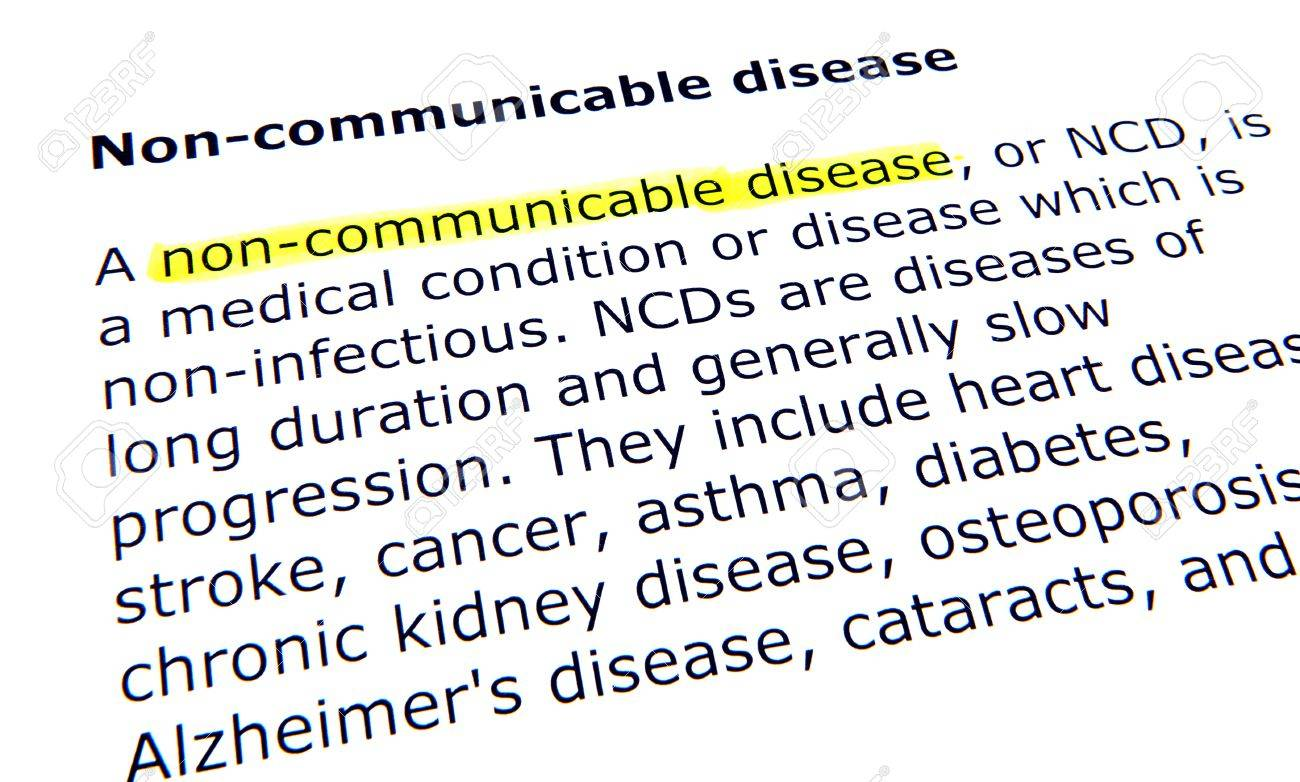 non-communicable disease stock photo, picture and royalty free image