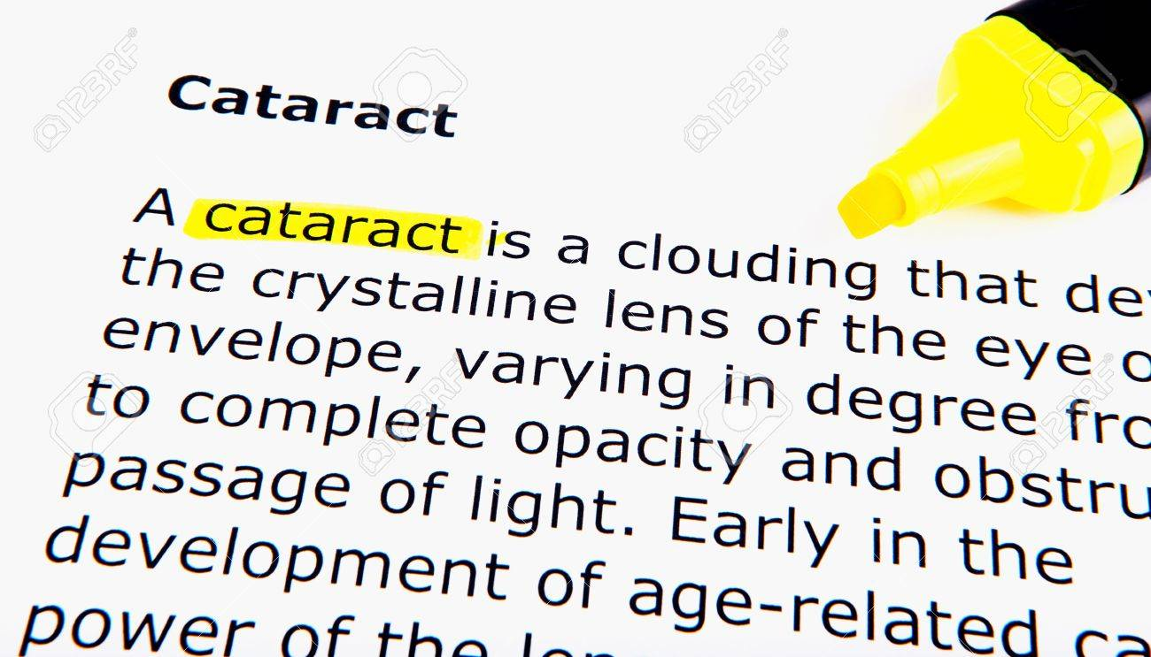 Cataract Stock Photo - 11495168