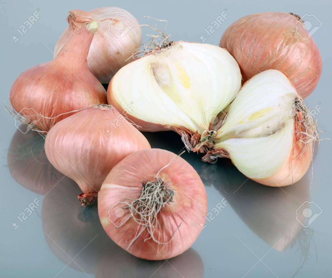 Fresh onion. Stock Photo - 12814610