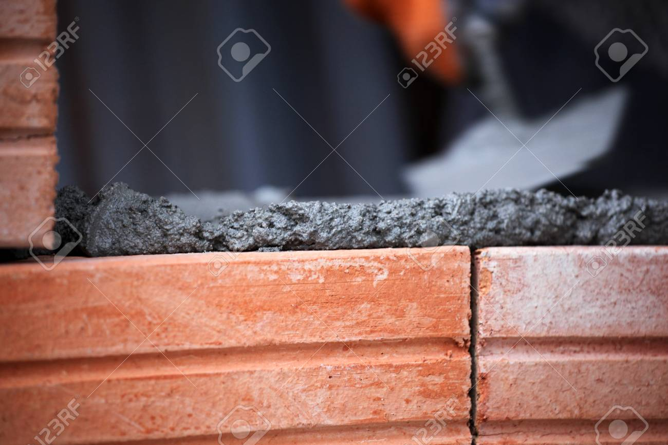 construction mason worker bricklayer. Stock Photo - 16751238