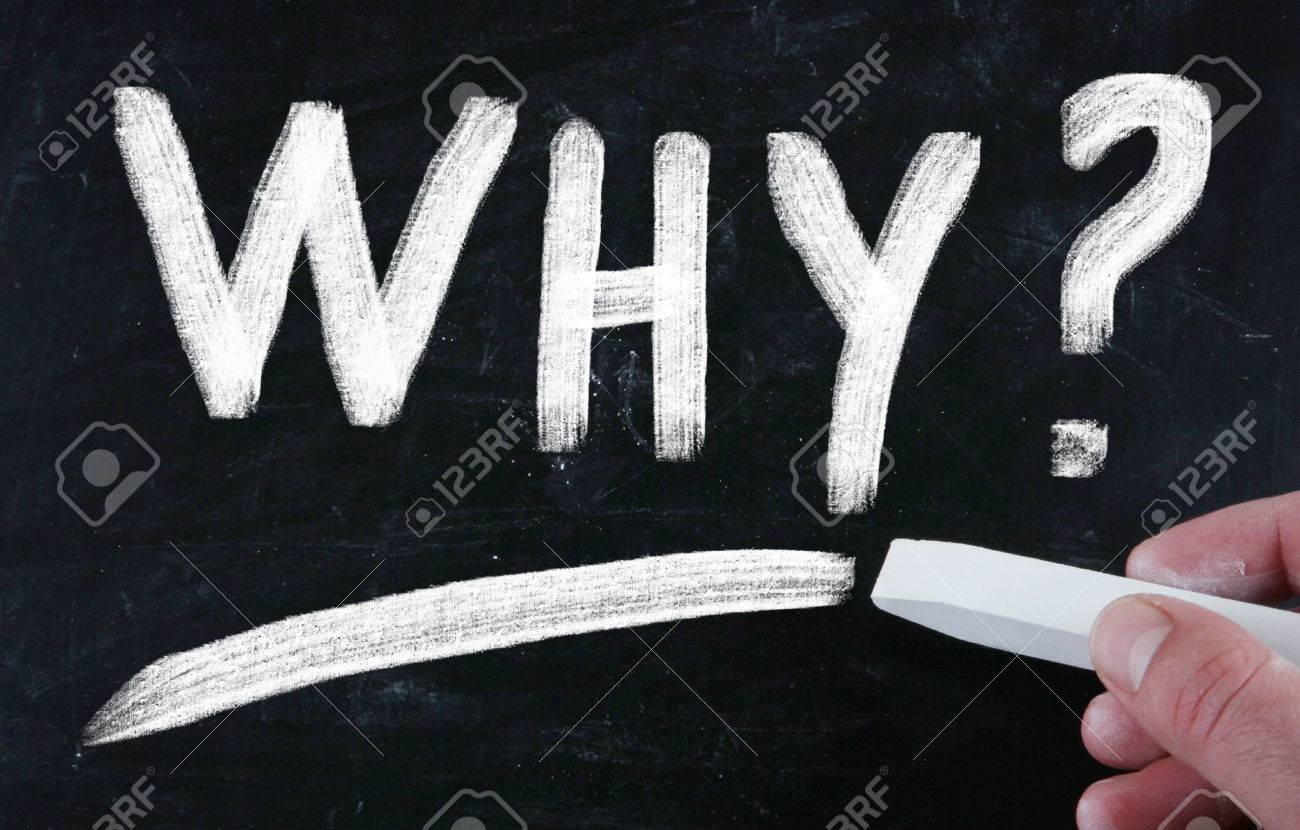 why concept Stock Photo - 31166491